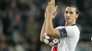 Sweden international Zlatan Ibrahimovic single-handedly destroyed the Anderlecht with four-goals in the 5-0 rout.