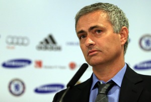 Chelsea Manager Jose Mourinho thinking about his ZFC picks for 2013/2014.